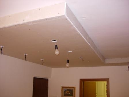 Stuccatura cartongesso controsoffitto confortevole for Cartongesso controsoffitto