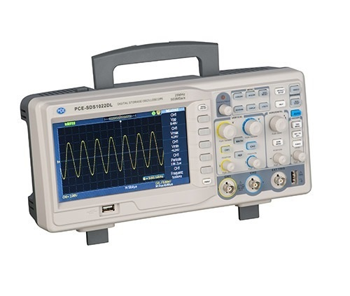 L'oscilloscopio PCE-SDS serie 10xx